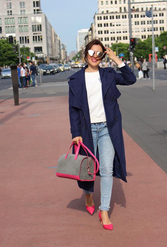 Street Fashion Berlin Soofre dove grey Suede Bowler Bag