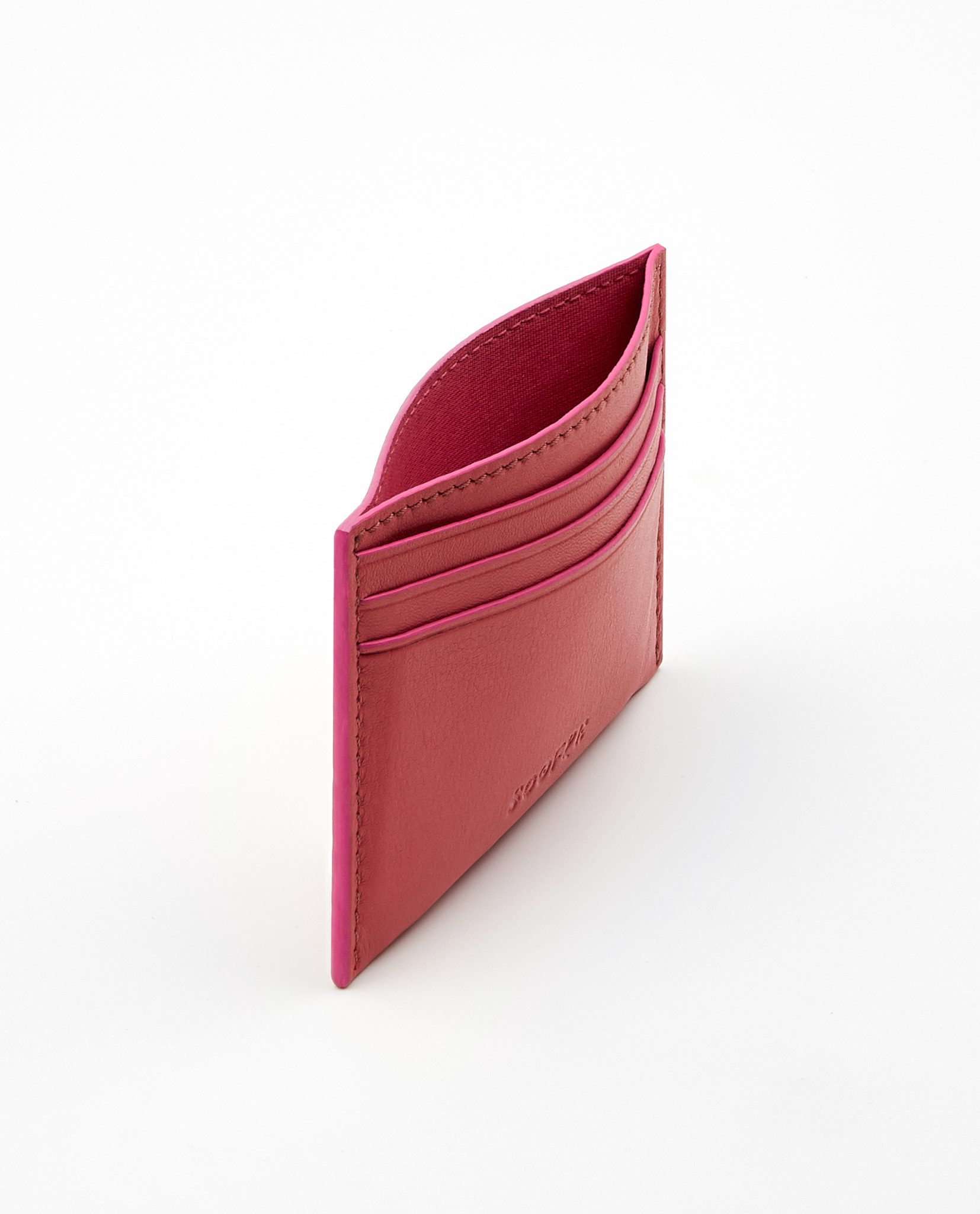 Soofre_Card-Holder_Coral-Fuchsia_2