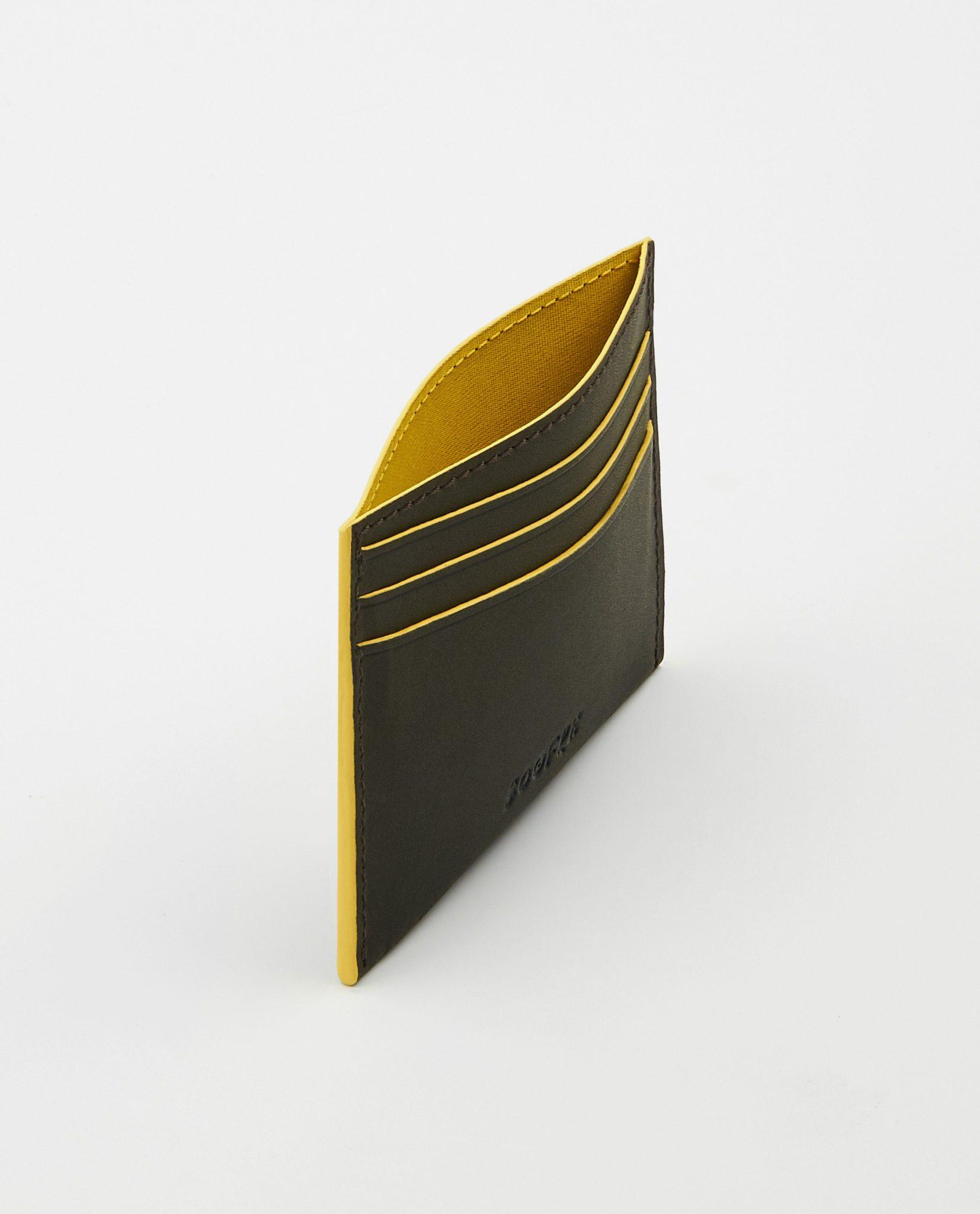 Soofre_Card-Holder_Dark-Brown-Yellow_2