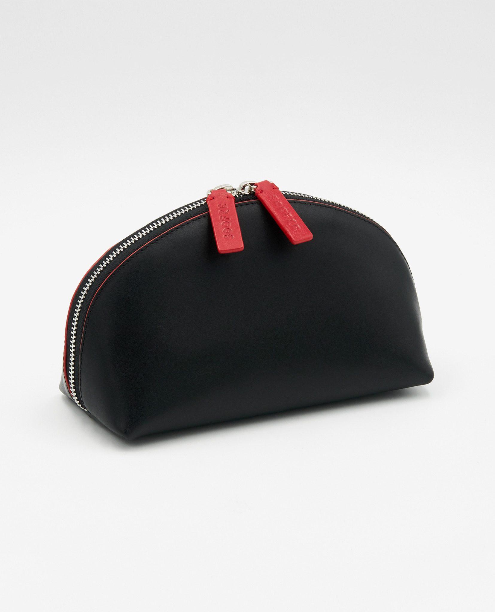 Soofre_Cosmetic-Bag_Black-Red-1