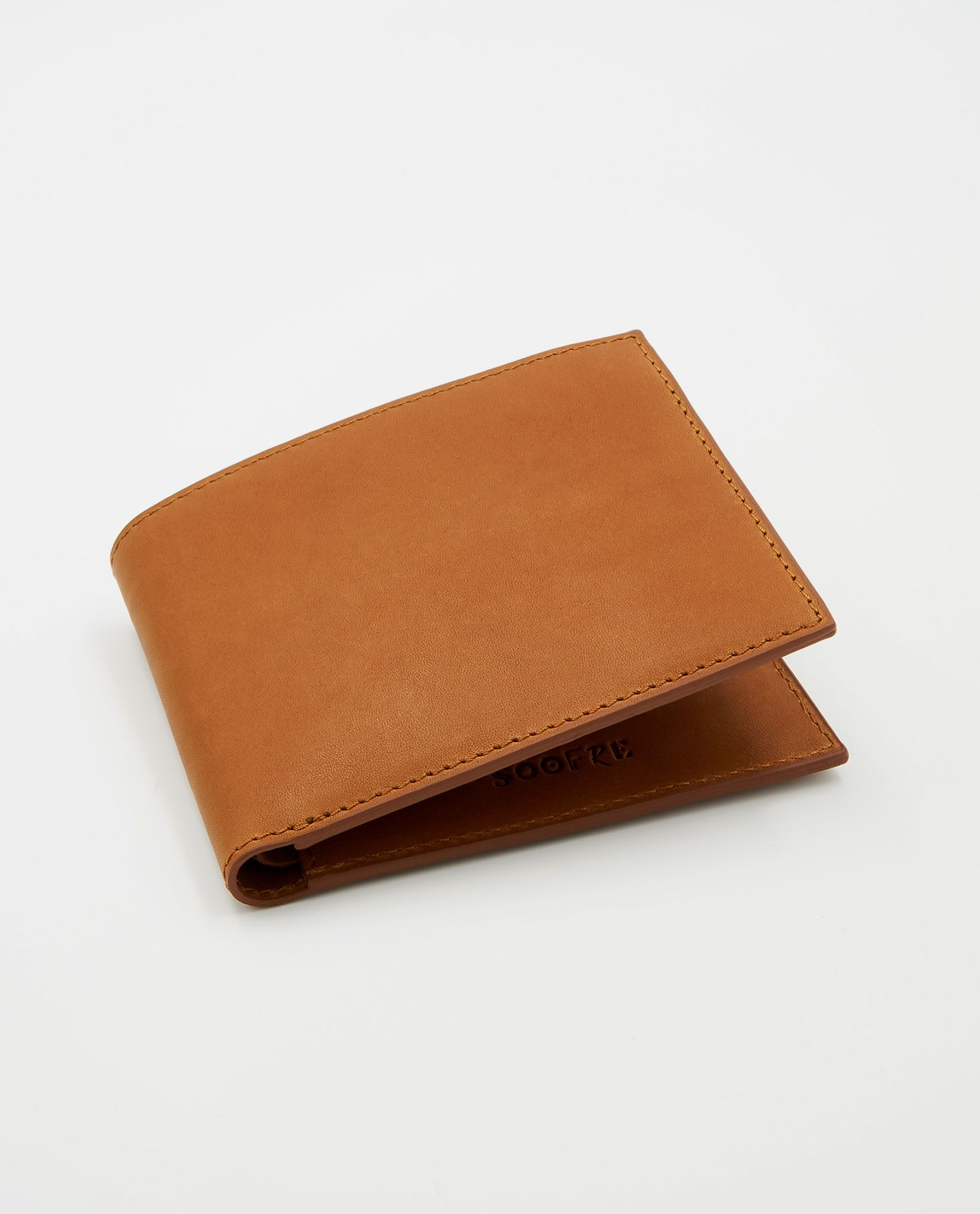 Soofre Men's Wallet Vegetable Tanned Leather tan