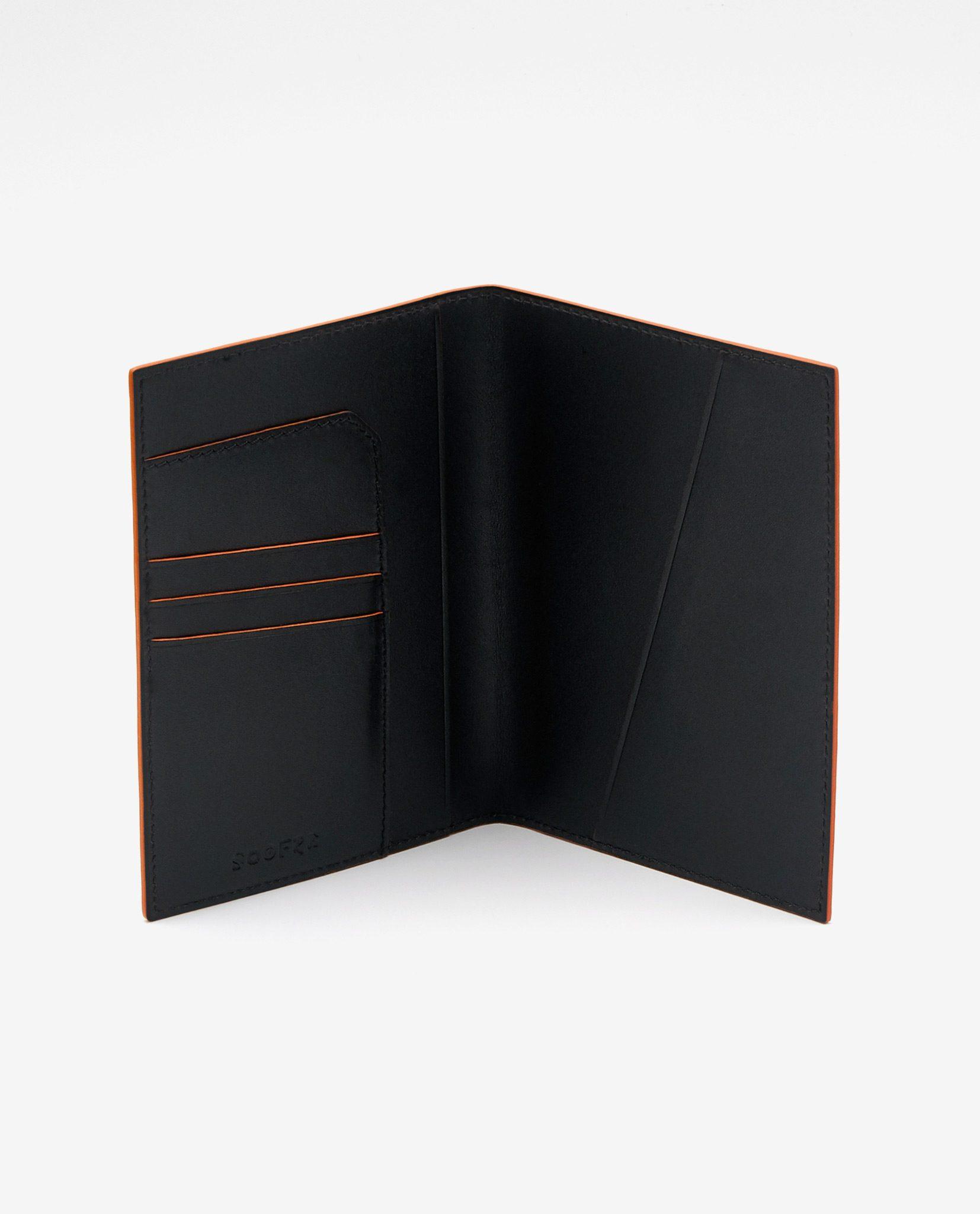Soofre_Passport-Holder_Black-Orange-2