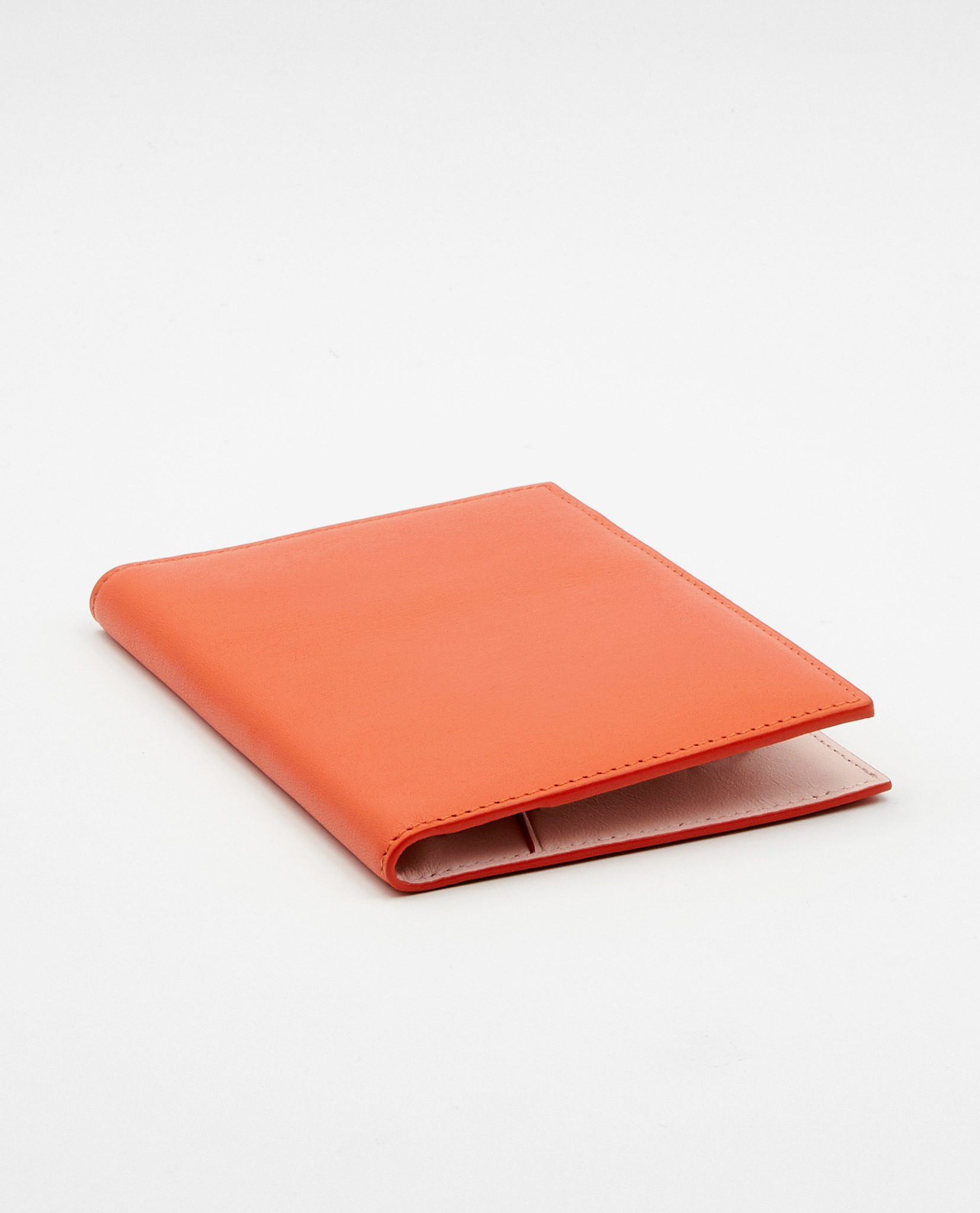Soofre Smooth Leather Passport Holder Color Coral Blush