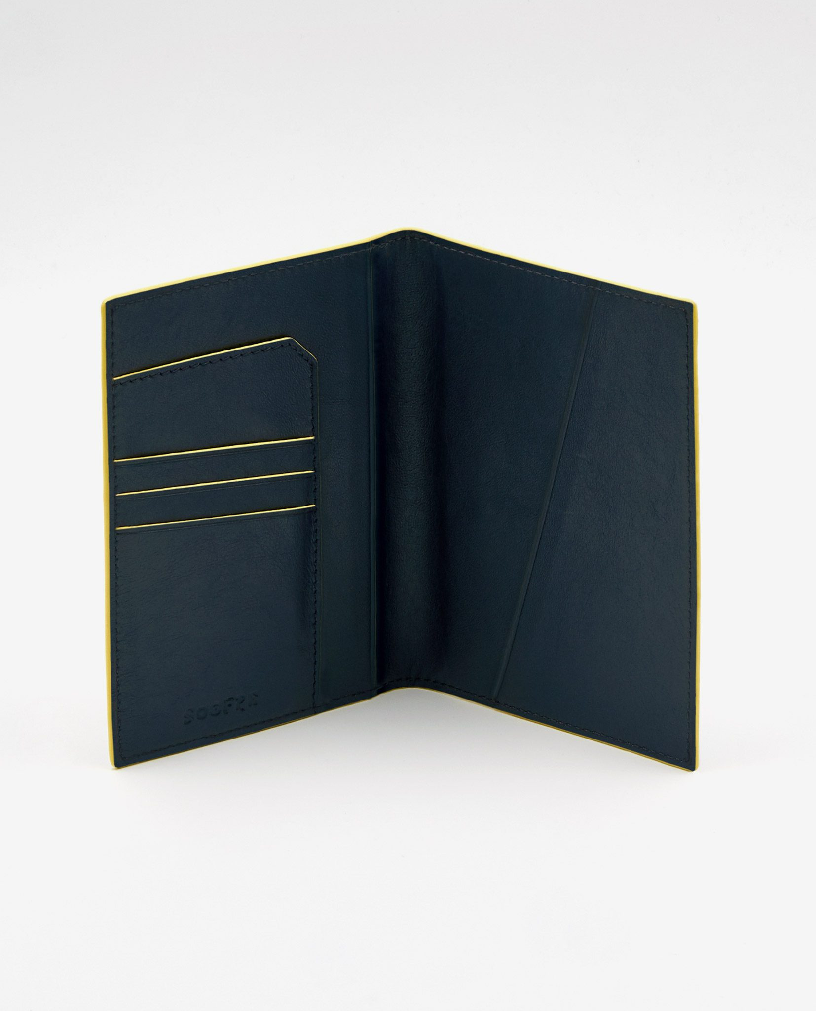 Soofre_Passport-Holder_Navy-Yellow-2