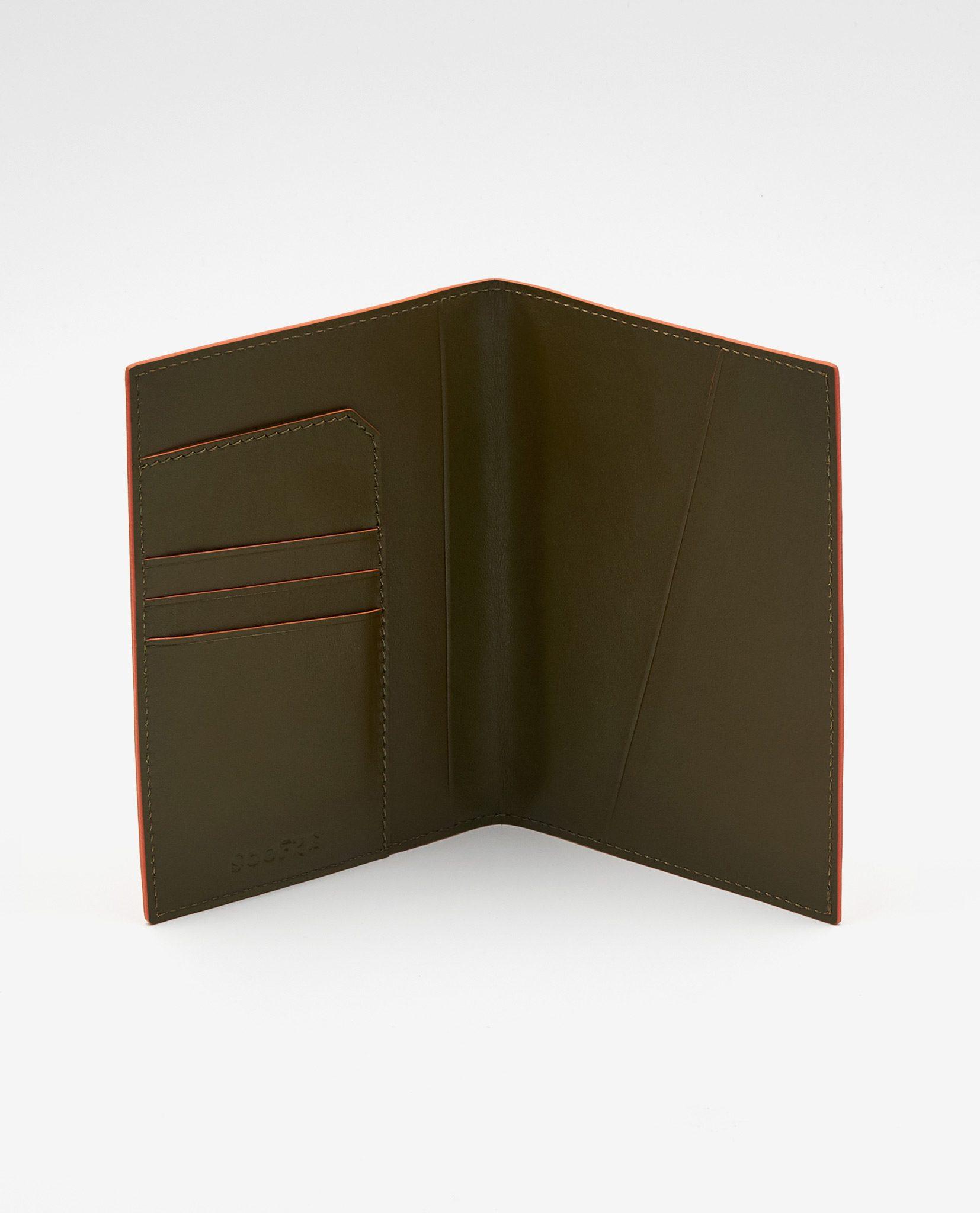 Soofre_Passport-Holder_Orange-Khaki-2