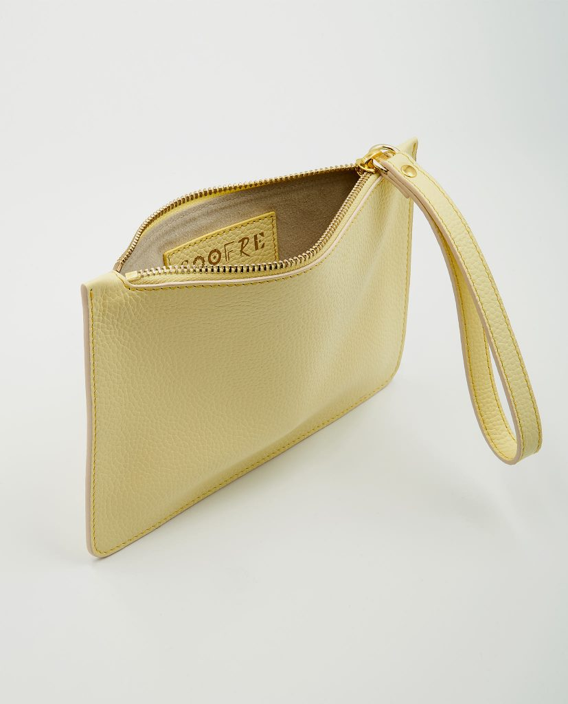 Soofre Small Pouch Light-Yellow-Beige