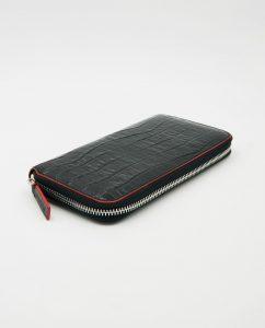 Soofre_Womens-Zip-Wallet-Croco-Black-Red_1