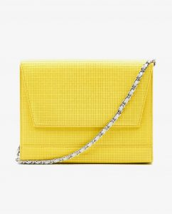 SOOFRE-Berlin-unique-Clutch-squared-yellow-dove-grey-FRONT