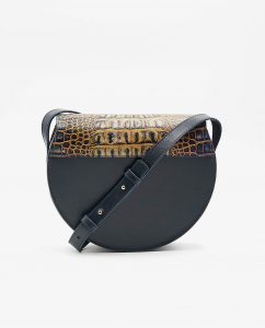 SOOFRE-Berlin-unique-Crossbody-Purse-croco-yellow-navy-BACK