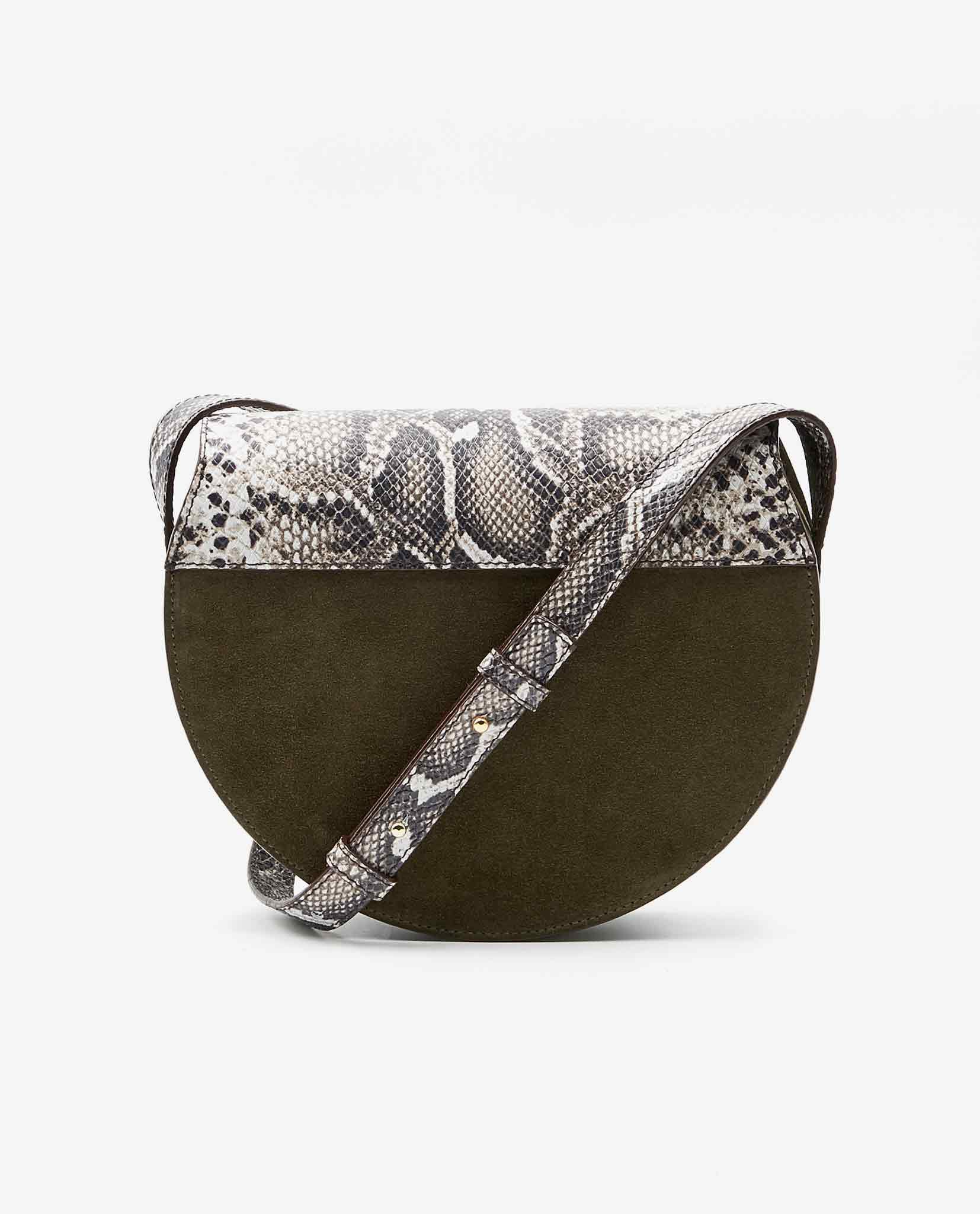 SOOFRE-Berlin-unique-Crossbody-Purse-snake-brown-Khaki-BACK