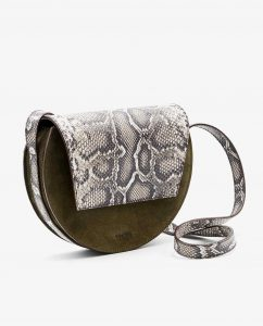 SOOFRE-Berlin-unique-Crossbody-Purse-snake-brown-Khaki-SIDES