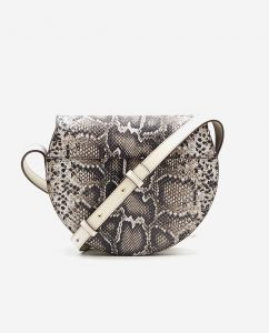 SOOFRE-Berlin-unique-Crossbody-Purse-snake-brown-ivory-BACK